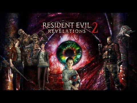 Resident Evil Revelations 2 Película Completa Español | Todas las Cinematicas + Gameplay 1080p