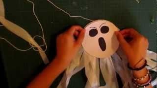Halloween 2012: Fantasmas Decorativos!