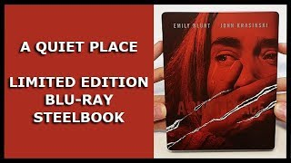 A QUIET PLACE - LIMITED STEELBOOK UNBOXING - MEDIA MARKT/SATURN EXCLUSIVE