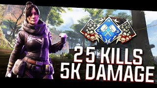 sYnceDez | 25 Kills | 5k DMG | SOLO (Apex Legends)