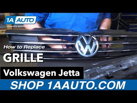 How to Replace Front Grille 11-18 Volkswagen Jetta