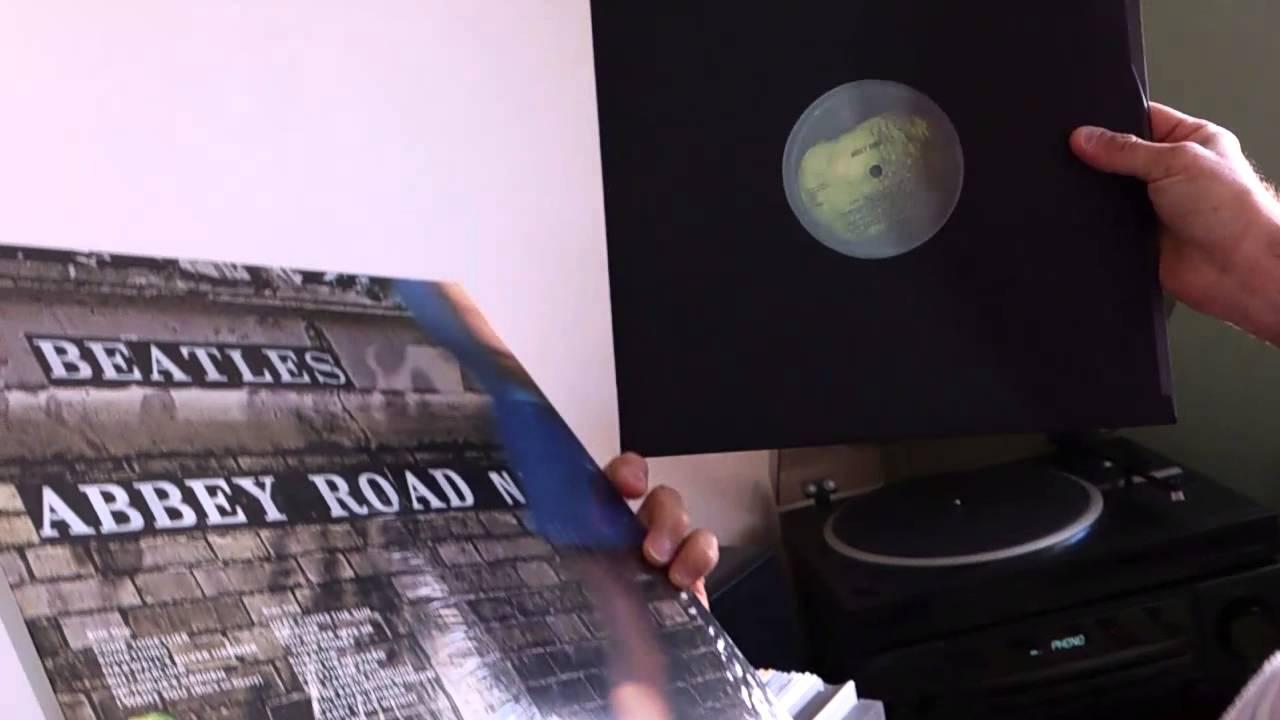 Unboxing Beatles Abbey Road Vinyl 2012 Reissue