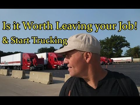 IS IT WORTH! LEAVING YOUR JOB 2 BECOME A CR ENGLAND/SWIFT TRUCK DRIVER Video
