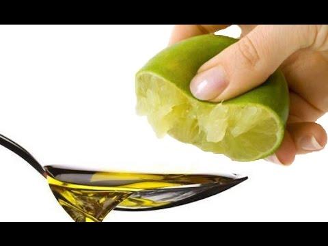 Exprime 1 limón en aceite de oliva y en 5 minutos ve el milagro que sucede
