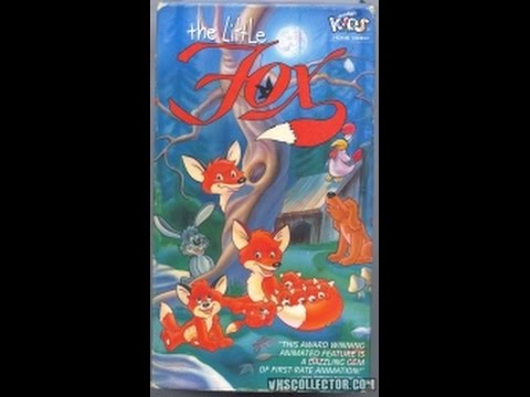Opening To The Little Fox 1994 VHS - YouTube