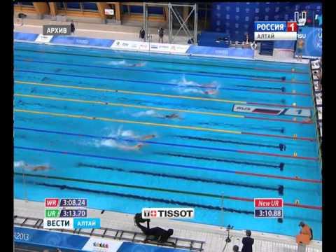 Пловец с Алтая Андрей Гречин поедет на Олимпийские игры в Бразилию