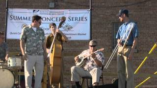 Fat Babies Jazz Band Plays Riverboat Shuffle-Bix
