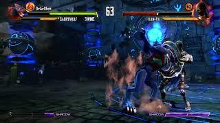 K I  Sabrewulf VS Kan Ra Ultra Combo FInish