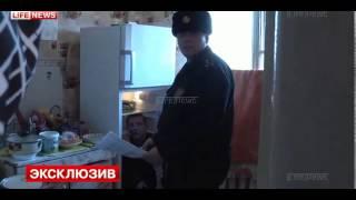 Спрятался от полиции в холодильнике...
