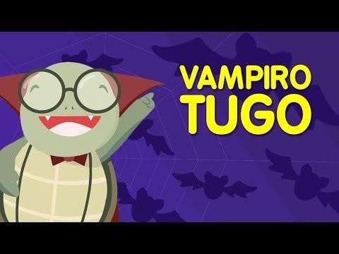 """Vampiro Tugo 🎃 (Canción """"Baila, Tugo"""" versión Halloween) - Canciones para niños de Nene León"""