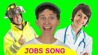 Jobs Song for Kids | Who Do You See? | Learn English Children