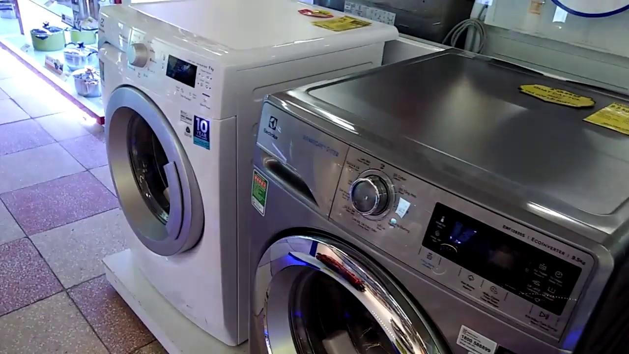 So sánh máy giặt Electrolux EWF12935S 9,5kg và EWF12942 9kg