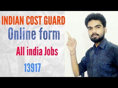 Indian Coast Guard Recruitment 2017 for Yantrik 01/2018 Batch Jobs