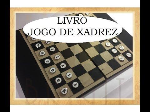 Livro Jogo de Xadrez (Chess Game Book) - VIDEO