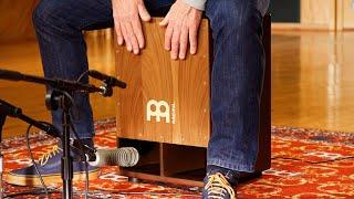 MEINL Percussion SUBCAJ5WN Jumbo Bass Cajon - Walnut