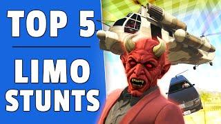 GTA 5 - TOP 5 LIMO STUNTS (GTA 5 Funny Moments)