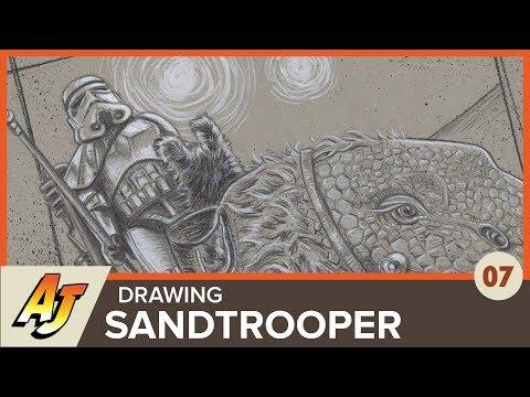 The Art of Andrew Jones, Episode 7: Star Wars Challenge