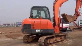 [Autowini.com] Korean used Excavator - Daewoo SL55-VGP (recover-031)