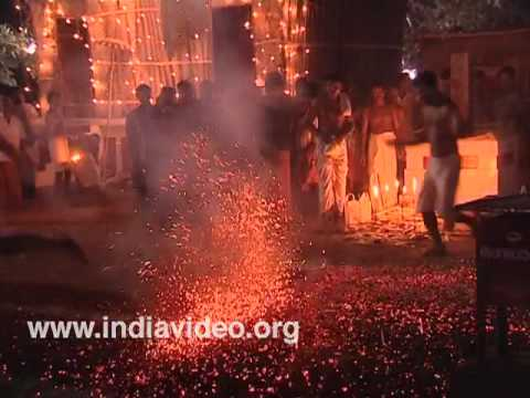 In burning devotion