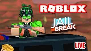 😃 ROBLOX JAILBREAK LIVE STREAM! 😃 | ROAD TO 6.3K SUBSCRIBERS!! | ROBLOX Live🔴