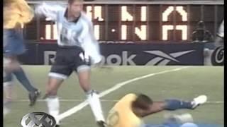 Argentina 2 Brasil 1 (Relato Marcelo Tinelli) Eliminatorias Corea-Japon 2002 Resumen
