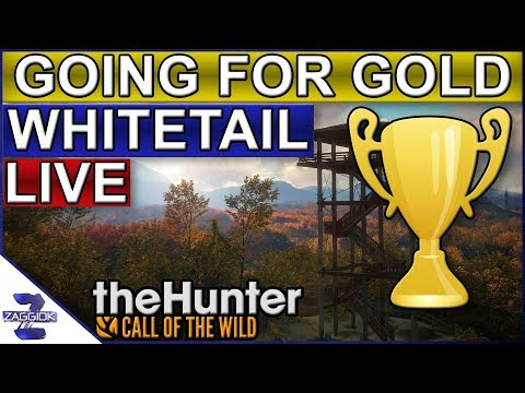 Going for Gold Whitetail Part 4 LIVE TheHunter Call of the Wild 2018