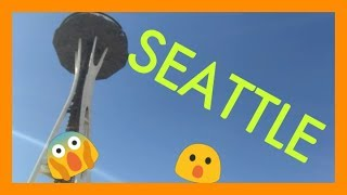 Seattle! Pop culture museum+roaming the streets