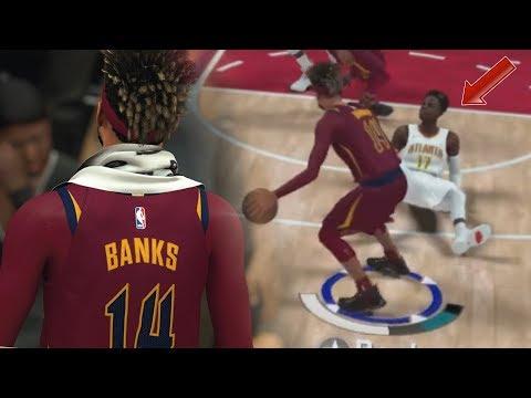 PREMIER MATCH TITULAIRE ET PREMIÈRE CHEVILLES BRISÉE !!| NBA 2K18 MA CARRIÈRE BANKS #2