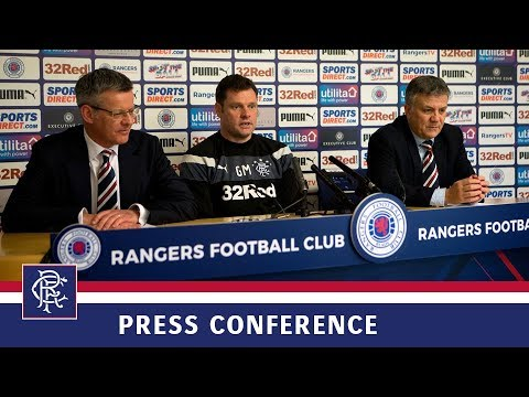 PRESS CONFERENCE | Murty Manager For Season