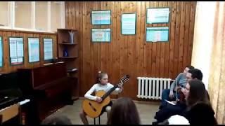 Вавилов - Канцона (играет Майер Ксения 3 класс ДМШ Софрино, ученица А. Рогачева)