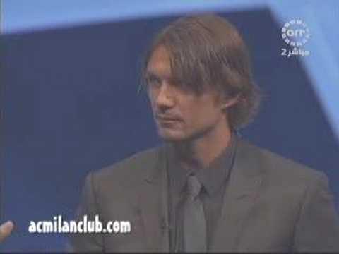 Best Europian Defender 2006 - 2007 Paolo Maldini