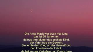 Walter Mossmann – Ballade von der Rentnerin Anna Mack