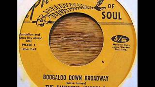 THE FANTASTIC JOHNNY C   BOOGALOO DOWN BROADWAY