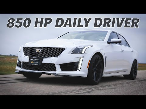850 HP CTS-V By Hennessey Performance