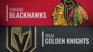 Chicago Blackhawks vs Vegas Golden Knights | Dec.06, 2018 NHL | Game Highlights | Обзор матча
