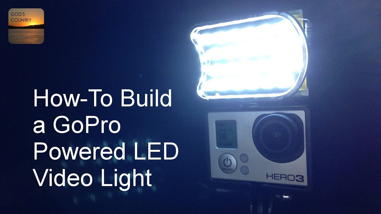 & How To Build a GoPro Powered LED Video Light - YouTube azcodes.com
