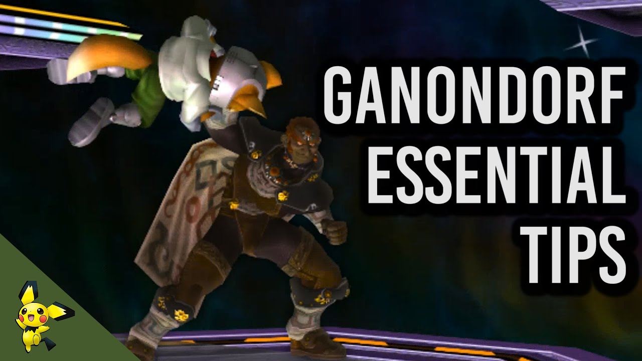 5 Essential Ganondorf Tips Super Smash Bros Melee