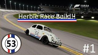 Forza 6 Race Build!! #1 Herbie!!