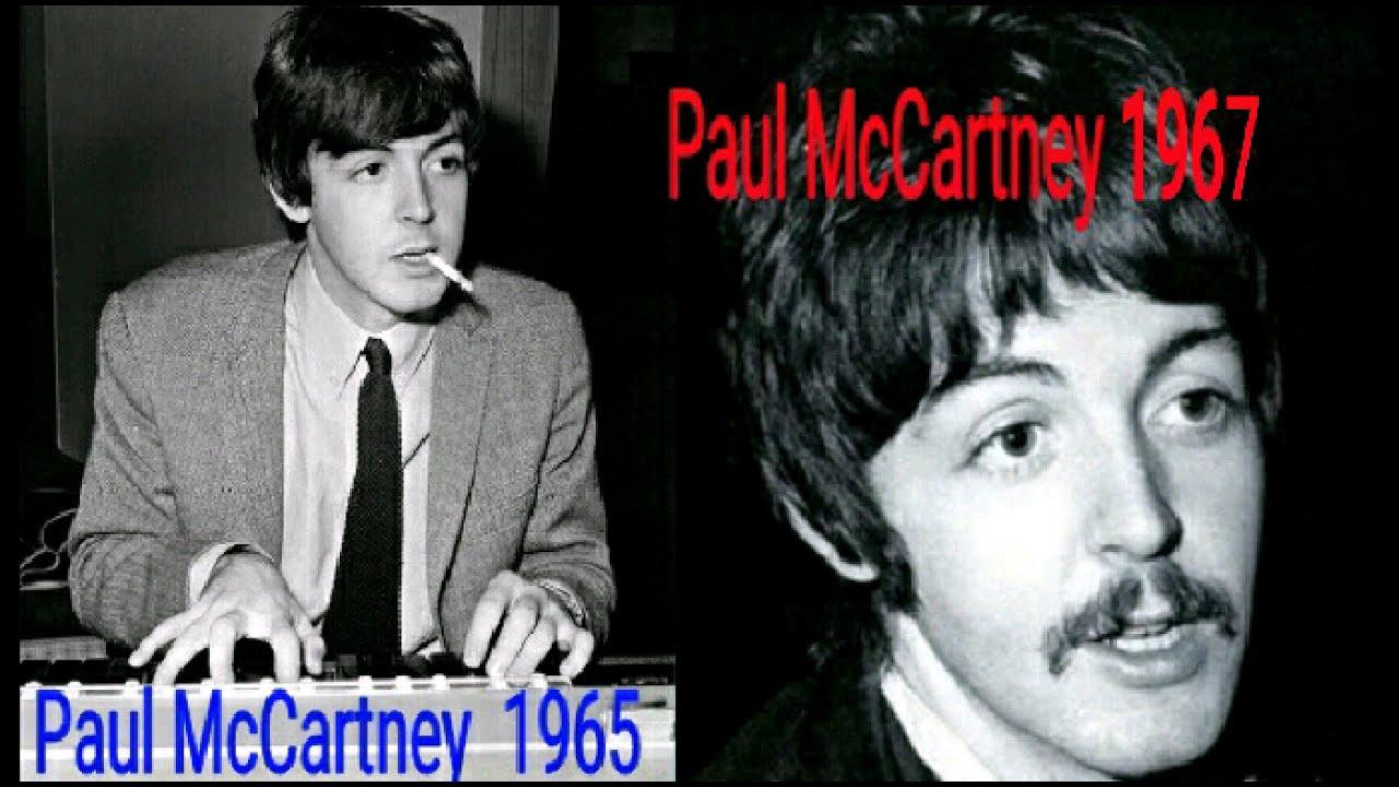 Paul McCartney Photo Compare 1965