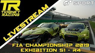 [GT Sport Livestream] - Double Date    FIA 2019 Exhibition Season 1 - R4