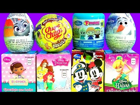 Kids Surprise Boxes Disney Princess Tinkerbell Furuta Peppa Pig Chupa Chups Frozen Disney Hadas