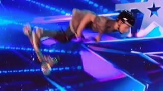 9 YO Charley Dyson Shows Off His Scooter Skills! | Week 2 | Britain's Got Talent 2017