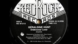 GERALDINE HUNT   UNDERCOVER LOVER