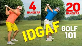CONSEQUENCE FREE GOLF - Fun Practice Relax with your Brodog