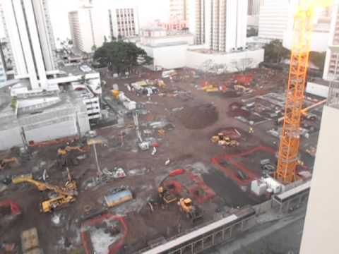 Waikiki International Market Place Under Construction