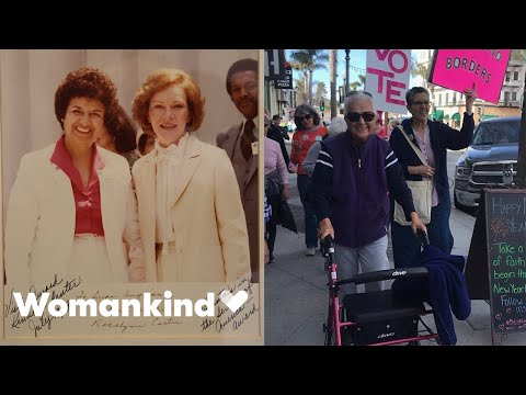 91-year-old activist continues to change the world | Womankind