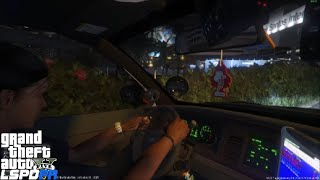 GTA 5 LSPDFR Police Mod 80   Ride Along Patrol In The Passenger Seat With My Partner Driving