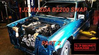 Video 1JZGTE MAZDA B2200 SWAP/ PART 2 (ENGINE GOES IN) download MP3, 3GP, MP4, WEBM, AVI, FLV September 2018