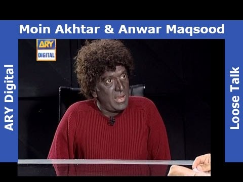 Loose Talk Episode 275 - Moin Akhter as Sri Lankan Cricketer - Very Funny Must Watch