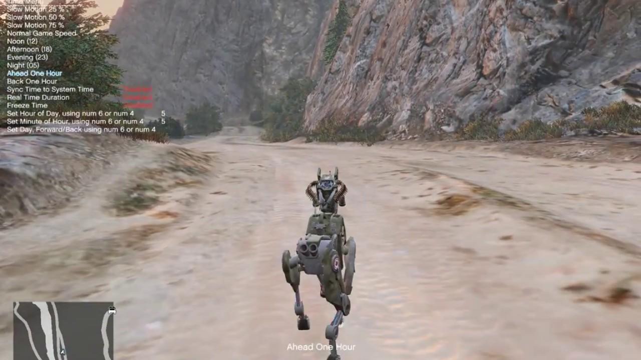 Gta V Military Robot Dog